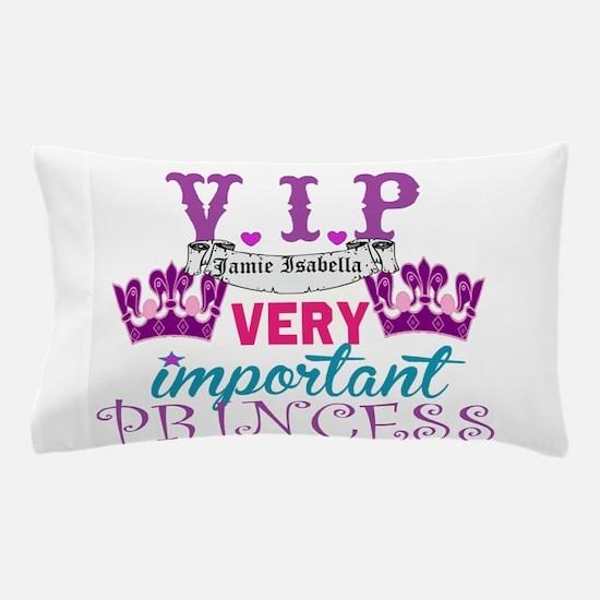 VIP Princess Personalize Pillow Case