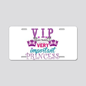 VIP Princess Personalize Aluminum License Plate