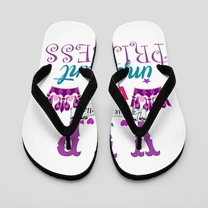 Vip Princess Personalize Flip Flops