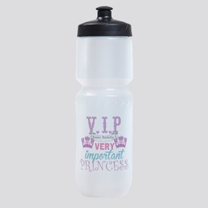 VIP Princess Personalize Sports Bottle