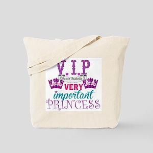 VIP Princess Personalize Tote Bag