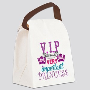 VIP Princess Personalize Canvas Lunch Bag