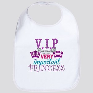 VIP Princess Personalize Bib