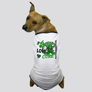 Spinal Cord Injury PeaceLoveCure2 Dog T-Shirt