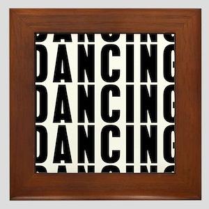 Dancung Dancing Dancing Framed Tile