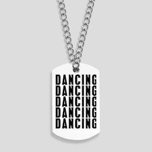 Dancung Dancing Dancing Dog Tags