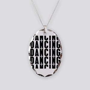 Dancung Dancing Dancing Necklace Oval Charm