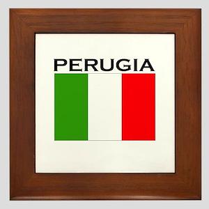 Perugia, Italy Framed Tile