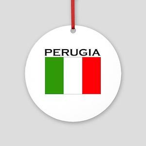 Perugia, Italy Ornament (Round)