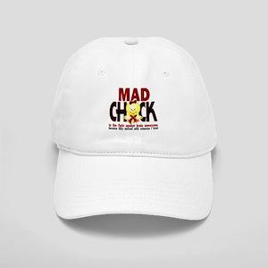 Brain Aneurysm Mad Chick 1 Cap