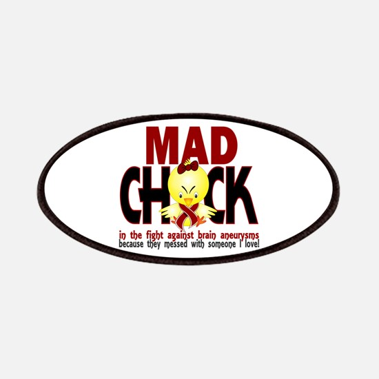 Brain Aneurysm Mad Chick 1 Patches