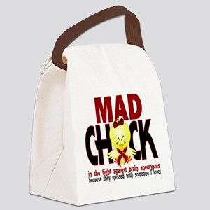 Brain Aneurysm Mad Chick 1 Canvas Lunch Bag