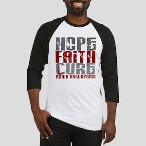 Brain Aneurysm HopeFaithCure1 Baseball Jersey