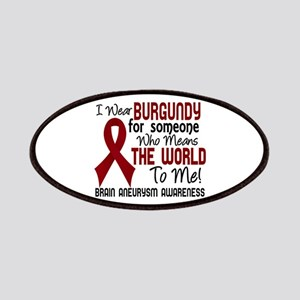 Brain Aneurysm MeansWorldToMe2 Patches
