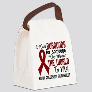 Brain Aneurysm MeansWorldToMe2 Canvas Lunch Bag