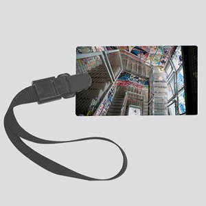 Kunsthaus Tacheles Staircase Large Luggage Tag