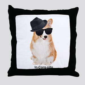 In-Corg-nito Throw Pillow