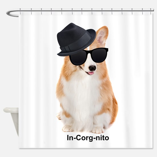 In-Corg-nito Shower Curtain