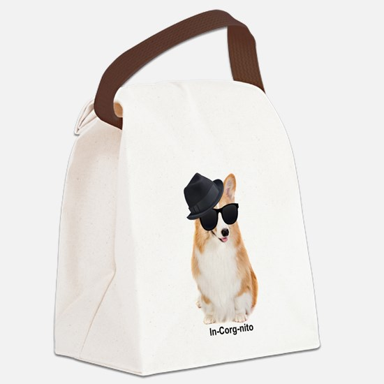 In-Corg-nito Canvas Lunch Bag
