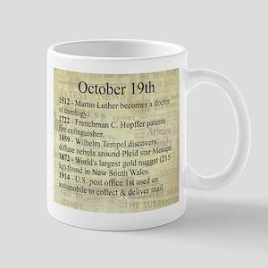 October 19th Mugs