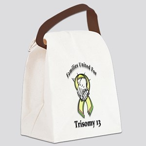 t13hands1 Canvas Lunch Bag