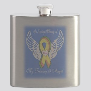 Trisomy Angel Flask