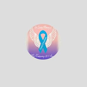 Trisomy 18 Angels Mini Button
