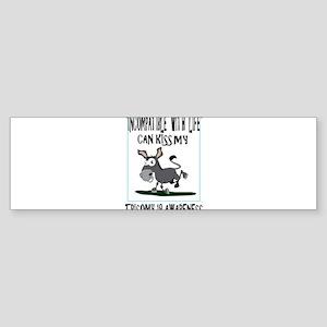 Trisomy 18 Donkey Sticker (Bumper)