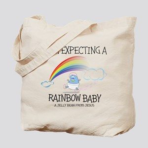 EXPECTING RAINBOW GIRL Tote Bag