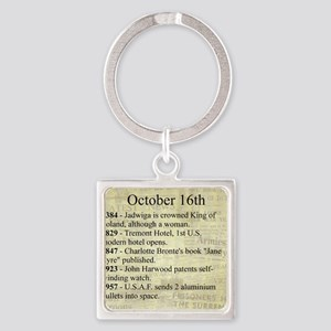 October 16th Keychains