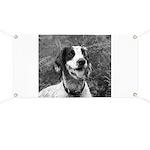 dog portrait Banner
