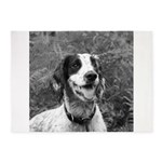 dog portrait 5'x7'Area Rug