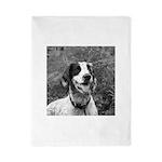 dog portrait Twin Duvet
