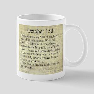 October 15th Mugs