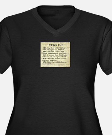 October 15th Plus Size T-Shirt