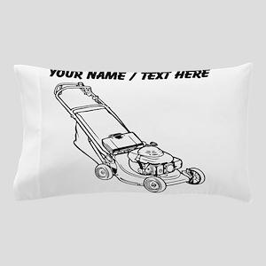 Custom Push Lawnmower Pillow Case