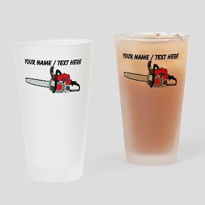 Custom Chainsaw Drinking Glass