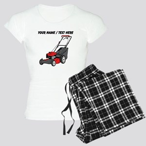 Custom Red Lawnmower Pajamas