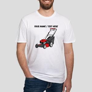 Custom Red Lawnmower T-Shirt