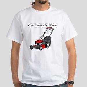 Custom Red Lawnmower T-Shirt