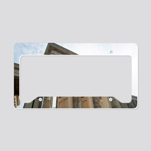 platz des 18 marz sign License Plate Holder