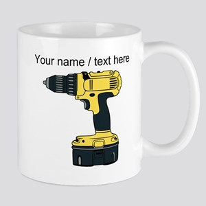 Custom Yellow Drill Mugs