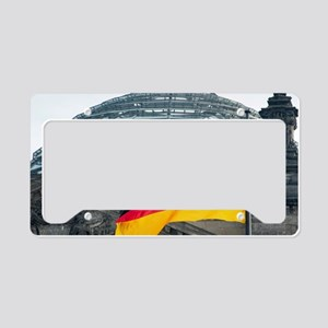 German flag License Plate Holder