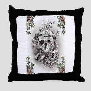 Sexy Tatt Throw Pillow