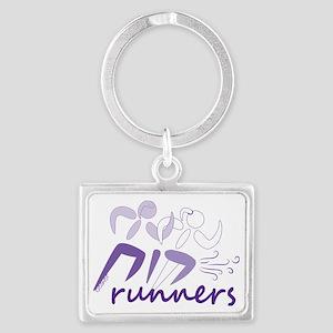 Ruach Runners Landscape Keychain