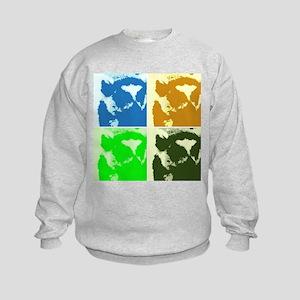 Lemur Pop Art Sweatshirt