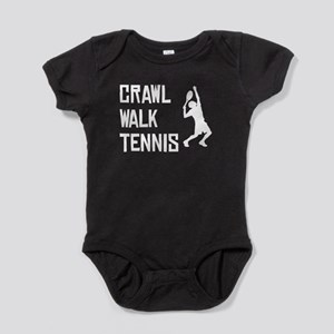 Crawl Walk Tennis Baby Bodysuit
