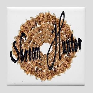 shroom hunter Tile Coaster