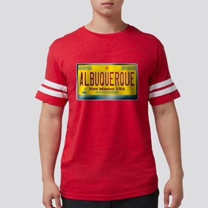 """ALBUQUERQUE"" New Mexico License Plate T-Shirt"