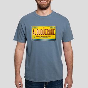 """ALBUQUERQUE"" New Mexico License Plate T-Shirt"